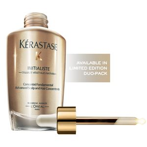 Kerastase Initialiste Advanced Scalp & Hair Serum Concentrate. Super serum transforms hair in 7 days by boosting strength, shine, softness and substance.
