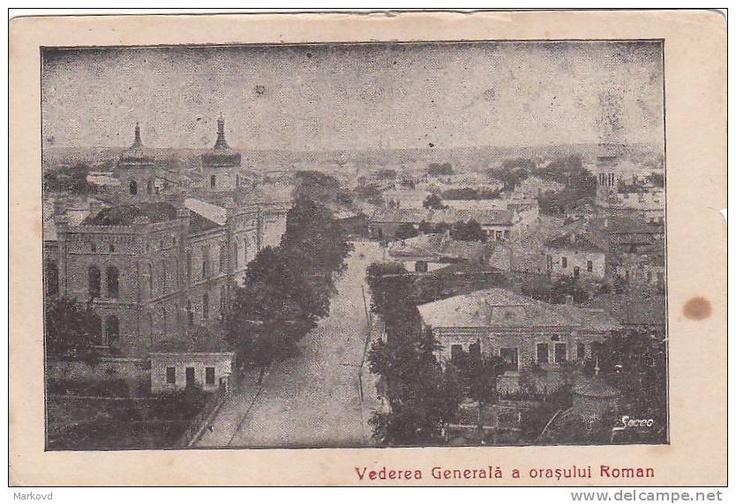 Roman - Vedere Generala - pe la 1900