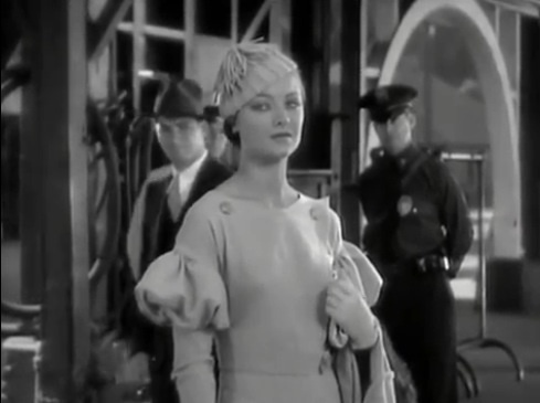 Myrna Loy in Thirteen Women (1932) - The entire movie is filled with great outfits and femme fatale, Ursula (Loy), is stunning. This outfit is my favorite because on her, it reminds me of one of Francesca's (Julie Dreyfus) outfits in Inglourious Basterds that had a similar design. :)