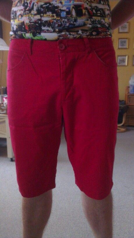 Røde shorts str. Brormand