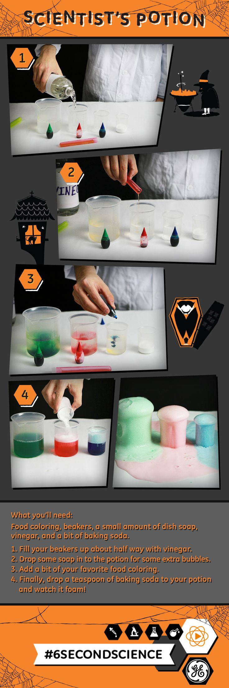 19 best diy science images on pinterest experiment ejercicio this easy halloween diy experiment is perfect for kids or parties solutioingenieria Image collections