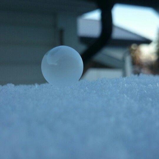 Soapbubbles outside