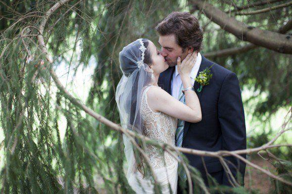 Rustic Kinfolk Wedding | Love this veil
