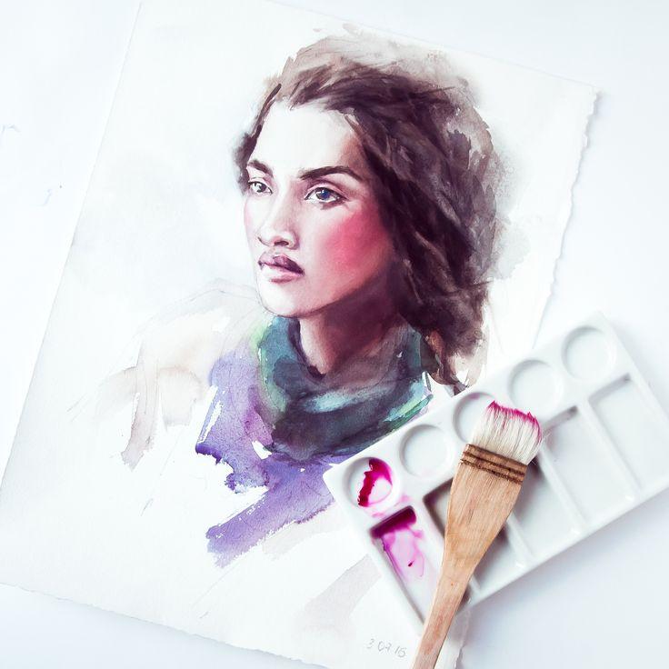 Акварель 2.0 —Онлайн курс акварельной живописи для начинающих