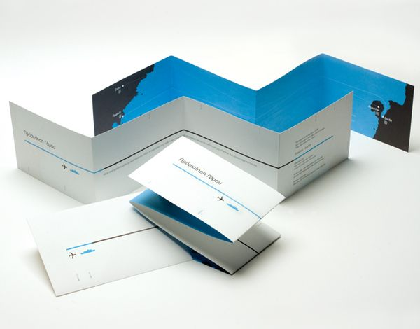 Crete // Wedding Invitation by Chris Trivizas, via Behance