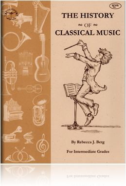 38 best art music appreciation images on pinterest appreciation the history of classical music grades 4 8 companion timeline http fandeluxe Gallery