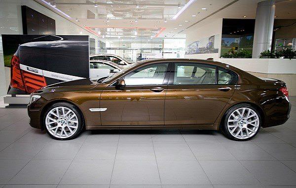 In a few Years I'll trade in The RR for the 750I BMW