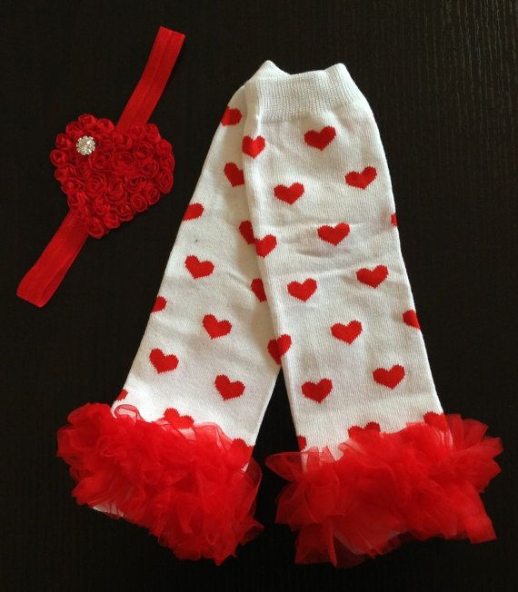 Baby leg warmers leg warmers and headband by BabyLiloHairBoutique