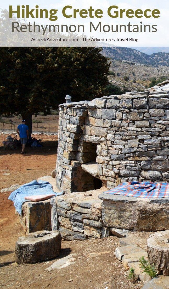 Hiking Crete Greece Rethymnon Mountains