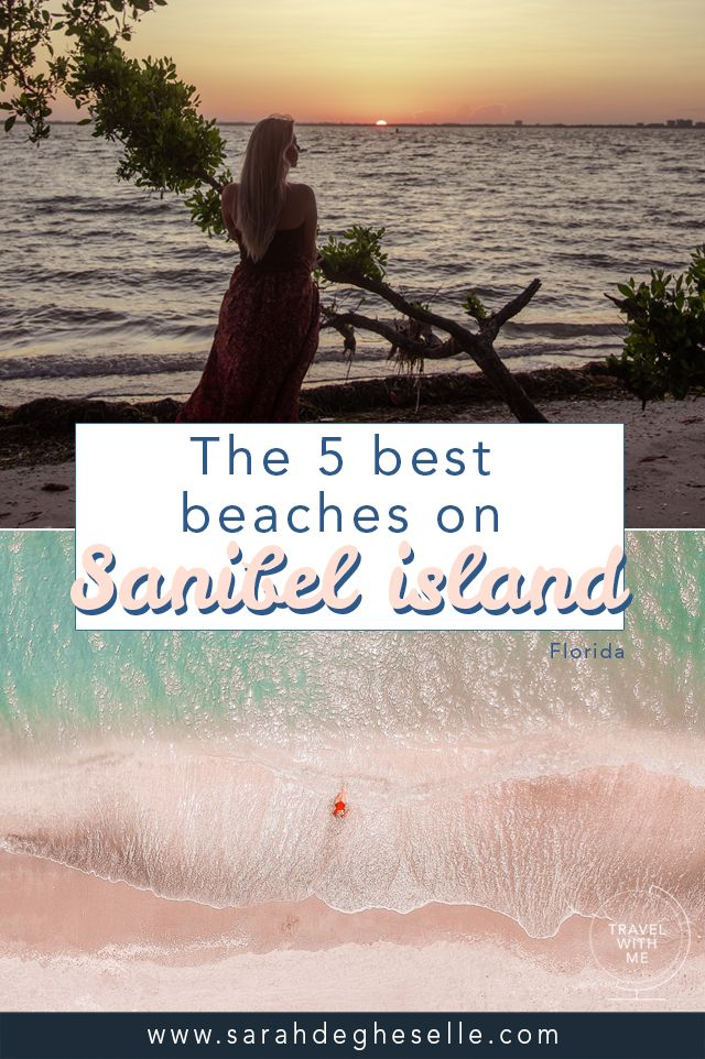 The 5 Best Beaches Around Sanibel Island Florida Usa Sanibel Island Florida Island Travel Florida Travel