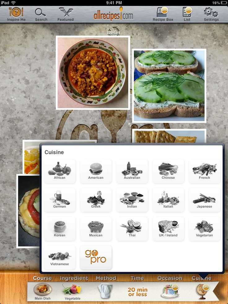 9 best recipe apps images on pinterest app store app and apps all recipes cooking method forumfinder Gallery