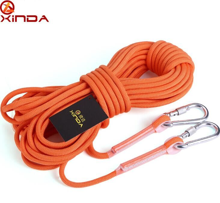 [Visit to Buy] XINDA 10M Professional Rock Climbing Cord Outdoor Hiking Accessories Rope 9.5mm Diameter 12KN High Strength Cord Safety Rope #Advertisement