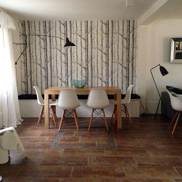 17 meilleures id es propos de papier peint effet bois. Black Bedroom Furniture Sets. Home Design Ideas