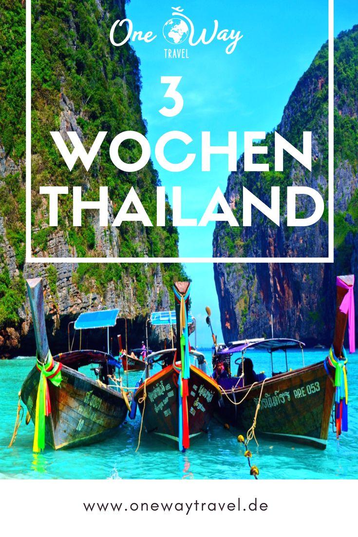 3 Wochen Thailand – Der perfekte Trip für Kultur, Abenteuer und Entspannung