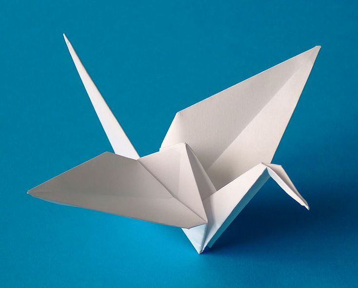 """Origami (折り紙?, from ori meaning """"folding"""", and kami meaning """"paper""""; is the traditional Japanese art of paper folding, which started in the 17th century AD and was popularized outside of Japan in the mid-1900s. It has since then evolved into a modern art form."""