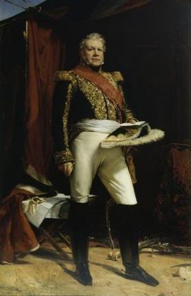 Portrait de Nicolas-Joseph Maison, Maréchal de France |  Cogniet