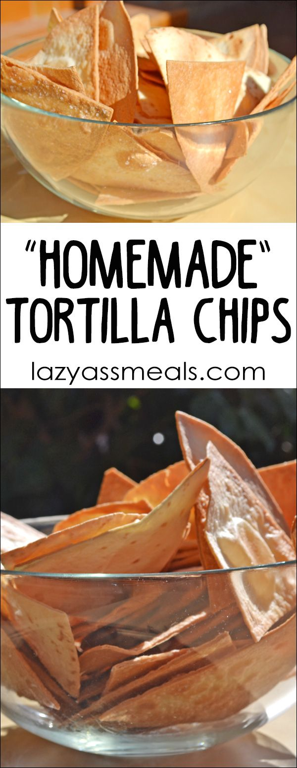 Crunchy homemade tortilla chips that takes just minutes to prepare.