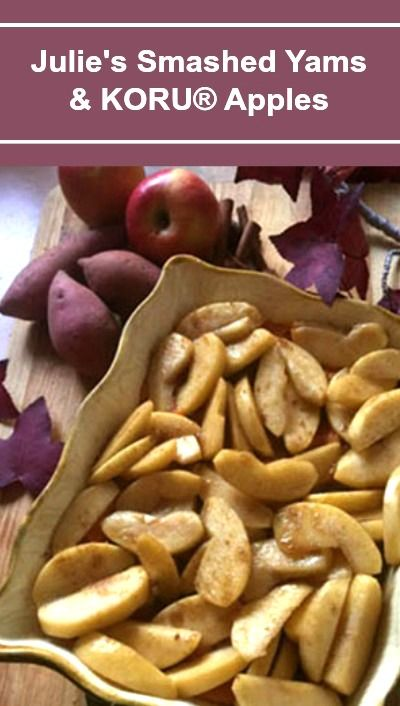 Escape Ordinary!: Yams can be cooked two days before with dish prepped, except for apples on day before. Yams can be made a day ahead - saute apples right before putting the dish in the oven. Takes approximately 1 hour to reheat thoroughly. The recipe doubles easily and accurately.