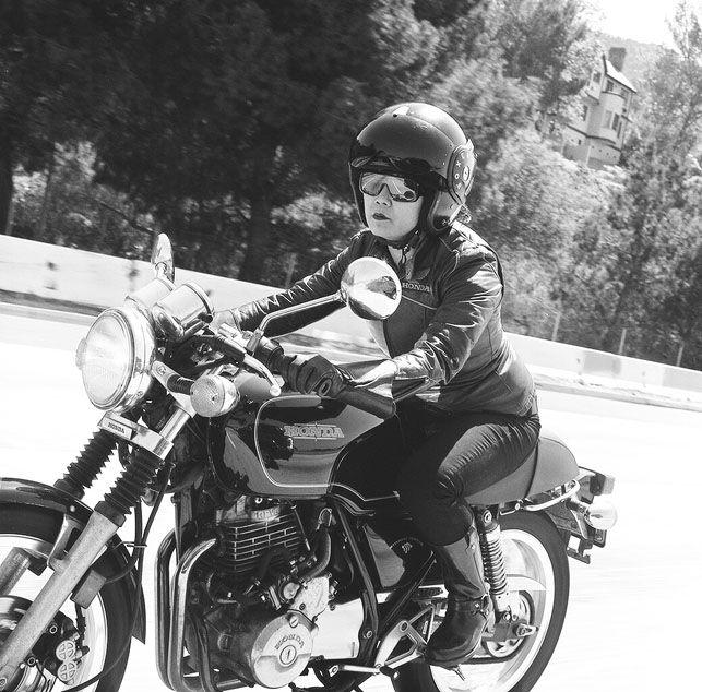 Female biker. Kvinder og deres motorcykler - Euroman