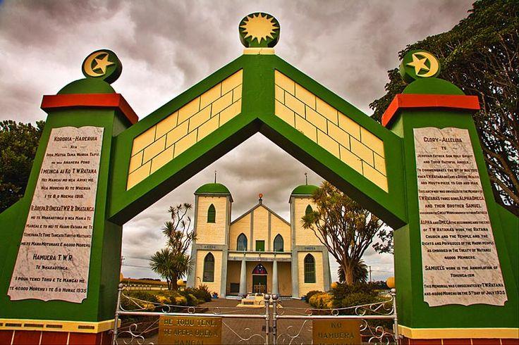 The Ratana Church at, Ratana,  see more at New Zealand Journeys app for iPad www.gopix.co.nz