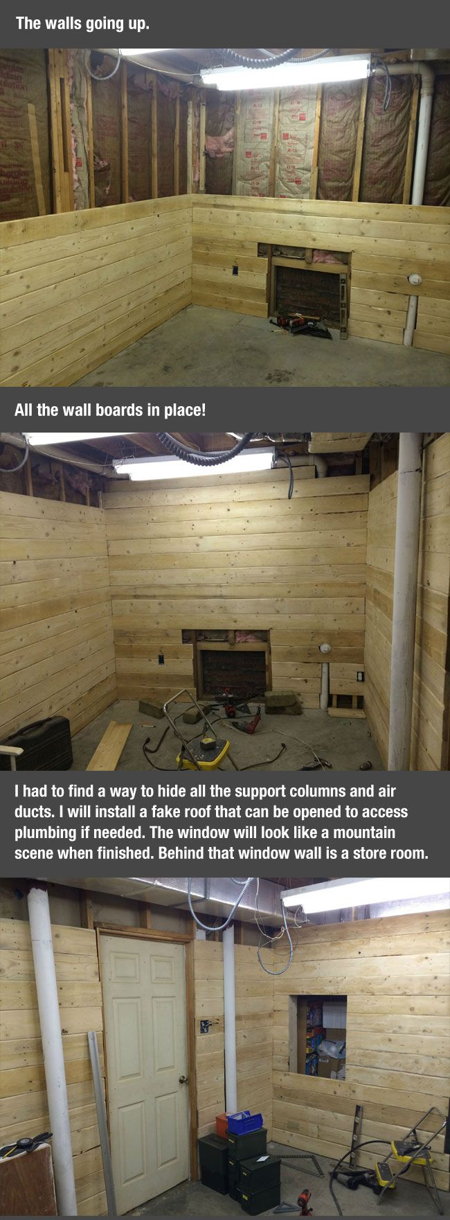 cool-man-cave-project-setting-walls