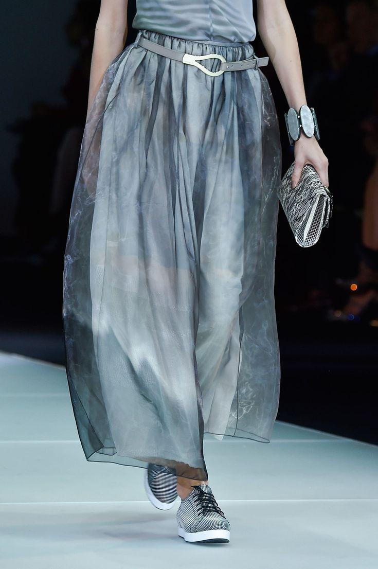 258 details photos of Giorgio Armani at Milan Fashion Week Spring 2015.