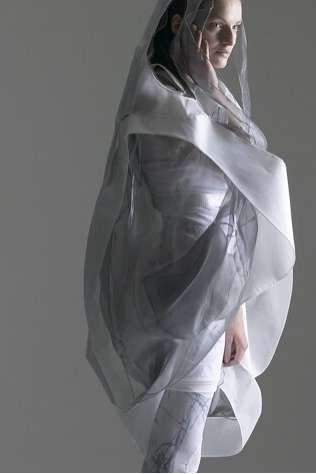 Transparent Futuristic Fashion - Anna Holvik Gets Inspiration from Science Fiction (GALLERY)
