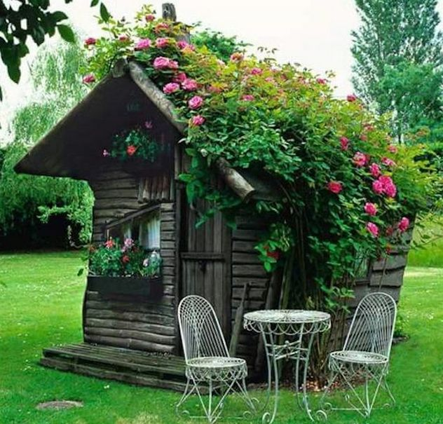 """I See Your Man Cave and Raise You a """"She Shed"""""""