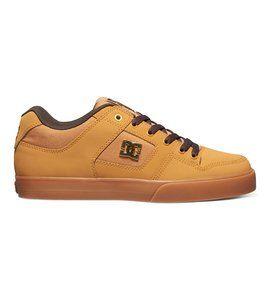 dcshoes, Men's Pure SE Shoes, WHEAT/DK CHOCOLATE (wd4)