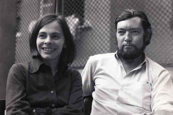 Julio Cortázar y Cristina Peri Rossi