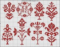 Free Easy Cross, Pattern Maker, PCStitch Charts + Free Historic Old Pattern Books: Kreuzstitch und Filetmuster aus Graubünden, Herausgegeben von der Bündnerischen Vereinigung für Heimatschutz. , 1927