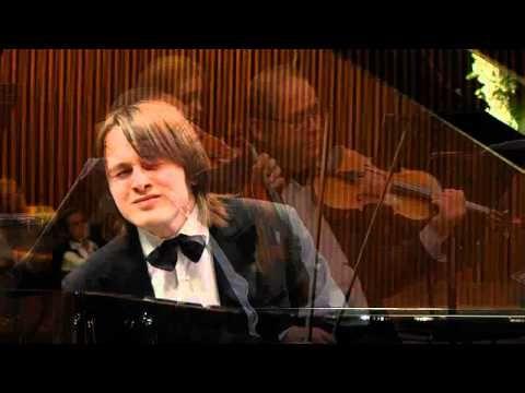 Daniil Trifonov performs Mozart Concerto no 23 in A major k 488 with the Israel Camerata Orchestra