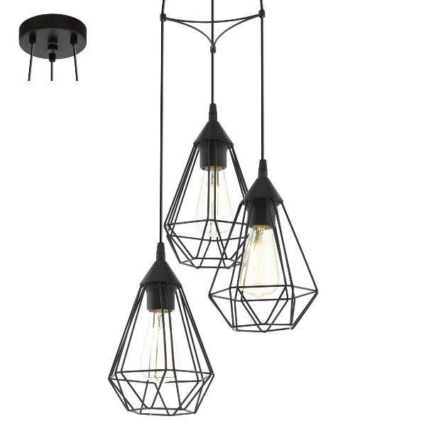 Eglo Vintage Lampa wisząca Tarbes 94191