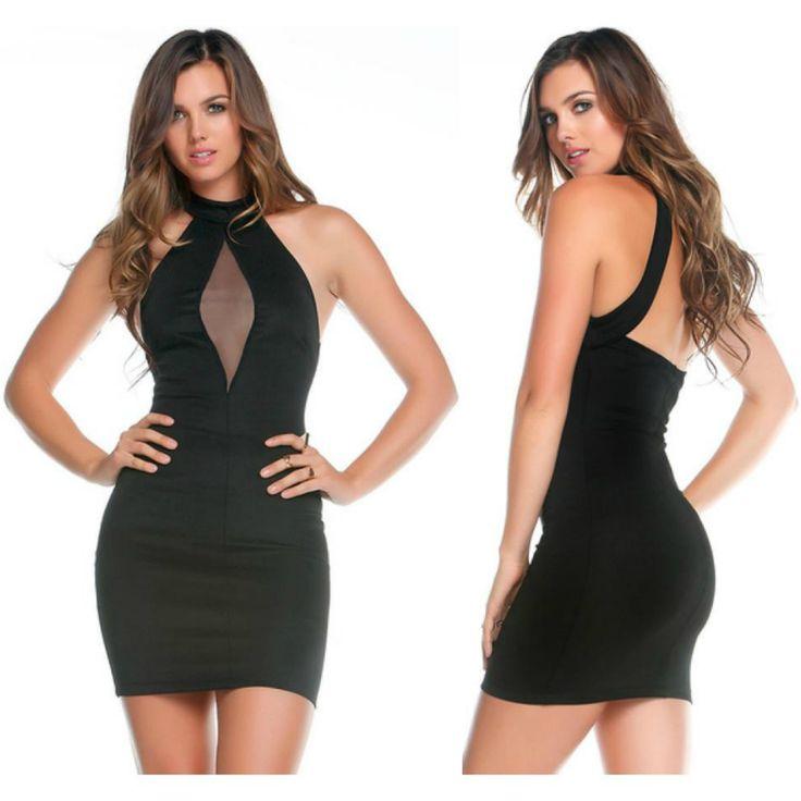 FORPLAY MINI #VESTIDO #SEXY NEGRO SIN MANGAS en #SEXSHOP Muakas - https://www.muakas.com/14130-vender-forplay-mini-vestido-negro.html