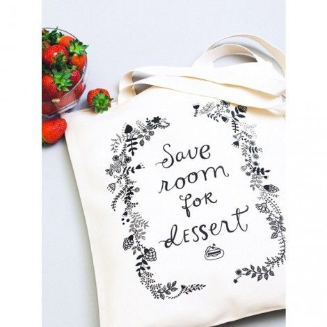 tote bag Save room