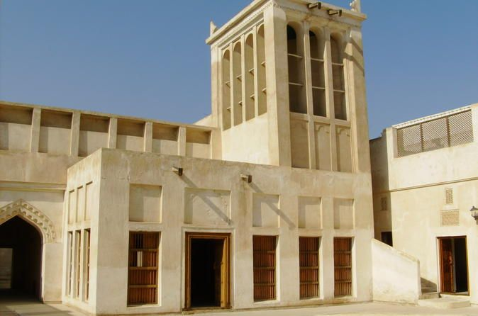 Half Day Private Tour: Old Capital of Bahrain City Tour This four hour tour starts 09.00am, you will visit,Shaikh Isa Bin Ali House,Shaikh Ebrahim Centre,Kurar House andMuharraq souq.Meet your English speaking guide in thehotel lobby and start your tour. The first visit will be toShaikh Isa Bin Ali Housesituated in Bahrain's second city Muharraq. The house was constructed by Shaikh Hassan Bin Abdulla Bin Ahmed Al-Fatih and was used by ...