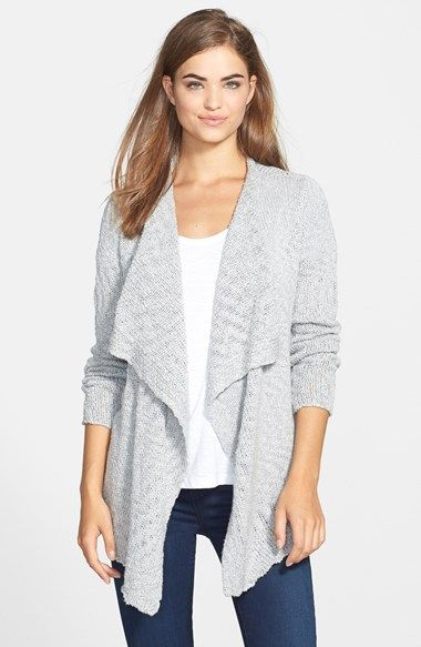 Tommy Bahama 'Taunton' Drape Front Cardigan available at #Nordstrom