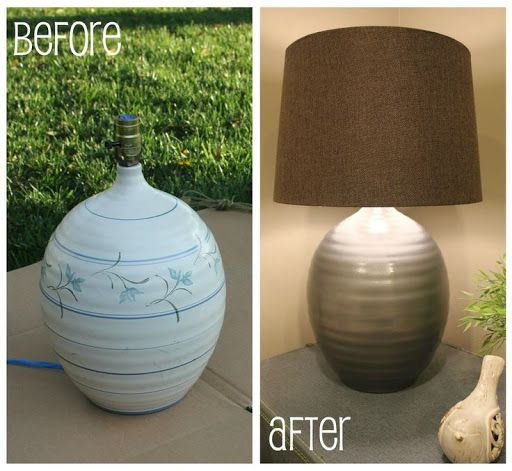 cheapest goodwill lamp ever - and looks amazing after its painted?