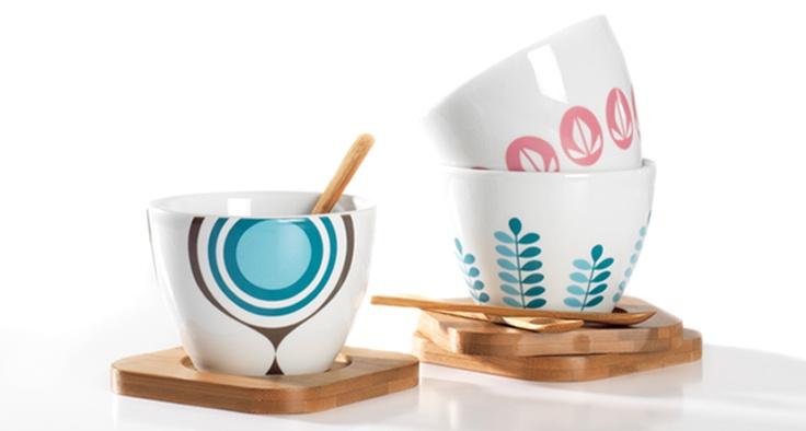 Marlene M design  Café au lait sett