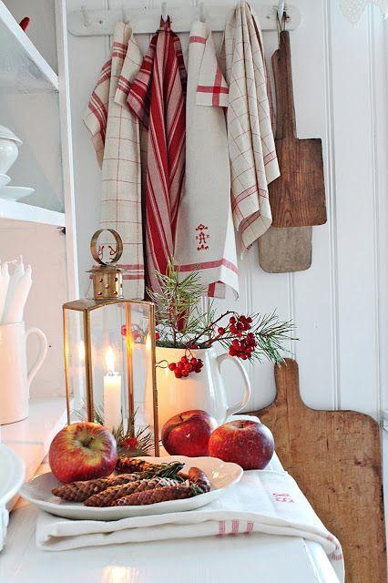 45 Swedish Farmhouse Christmas Moments - Hello Lovely