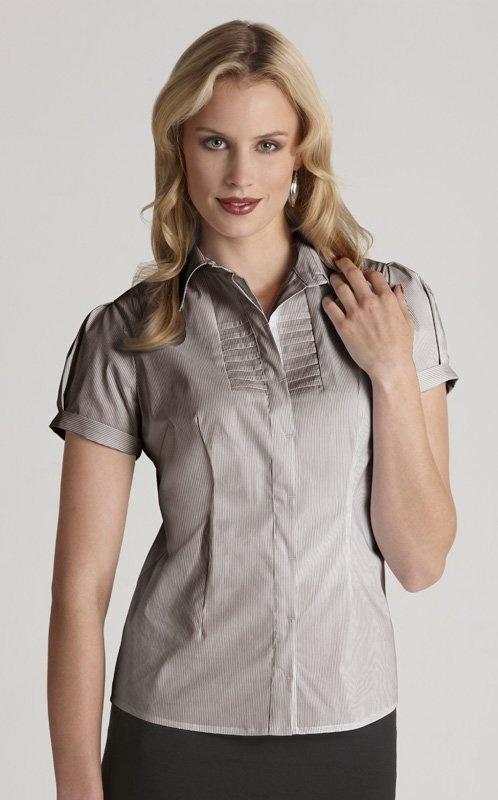 Berlin Ladies Short Sleeve Shirt - S121LS