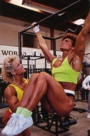 Tonya Knight / Marjo Selin | Retro Bodybuilding ...