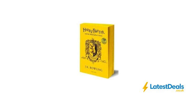 Harry Potter and the Philosopher's Stone - Hufflepuff Edition |by J. K. Rowling, £3.85 at Tesco