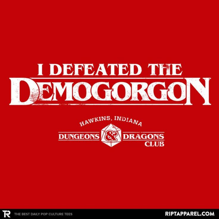 I Defeated The Demogorgon – Collection Image – RIPT Apparel
