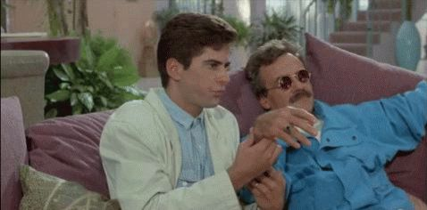The Best Scenes from Weekend at Bernie's - Movie Gifs