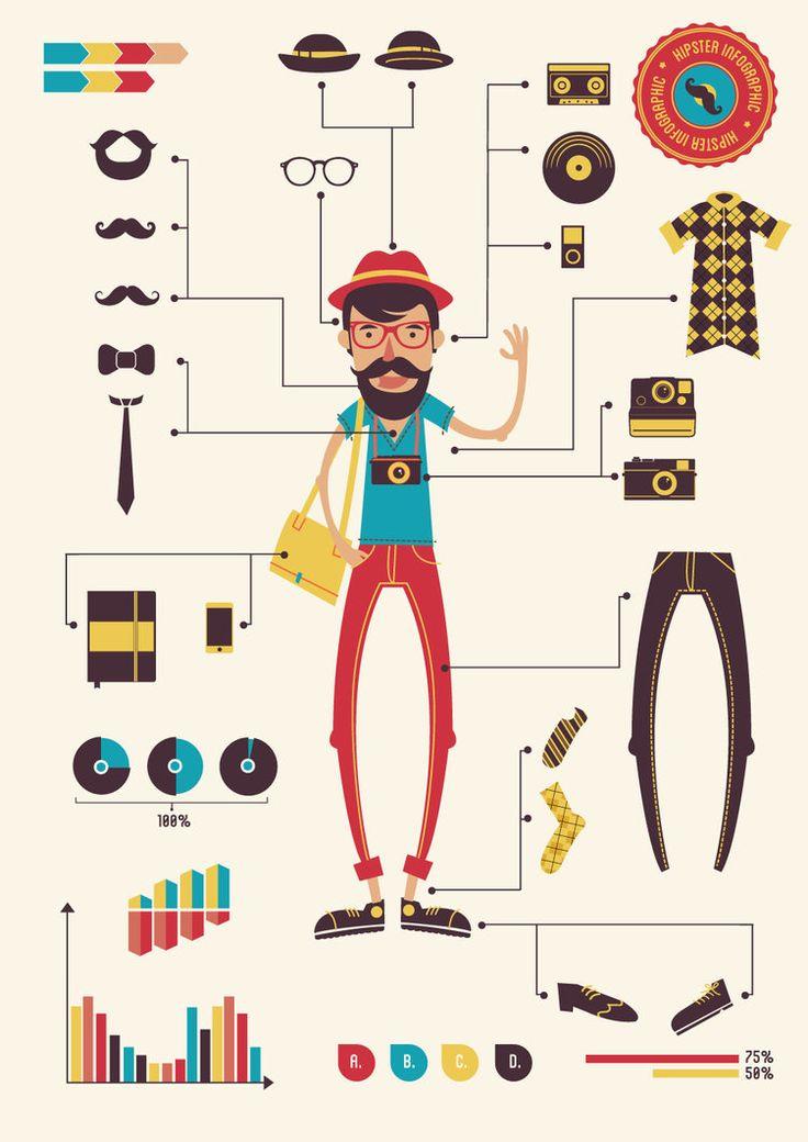 Hipster infographics by DarkStaLkeRR