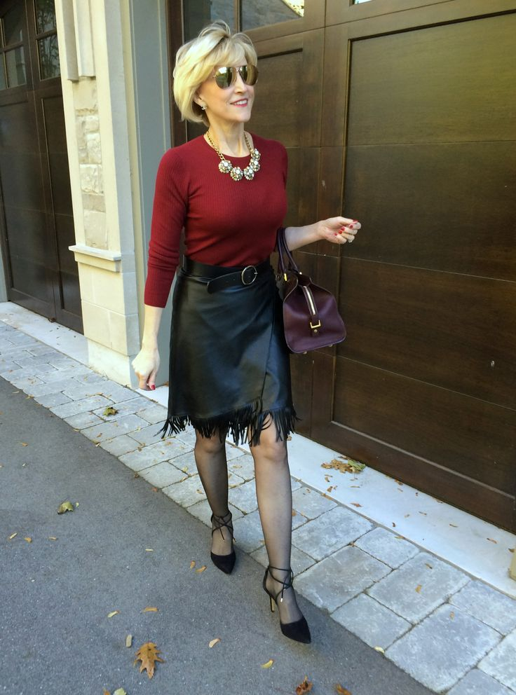 My Fab Way To Wear A Fringe Skirt Fabulous After 40