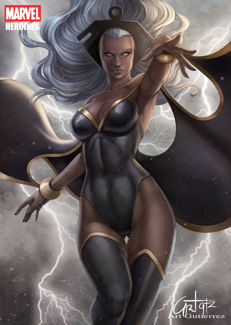 Sexy storm marvel hot