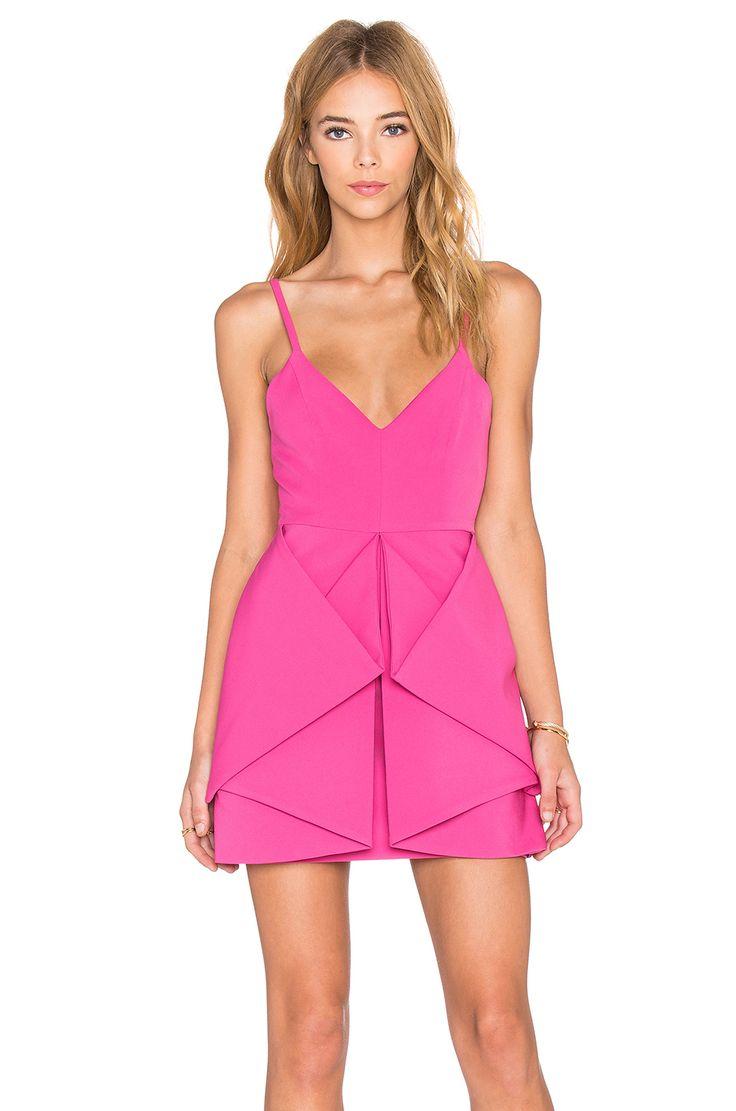 AQ/AQ Vipery Mini Dress in Pink