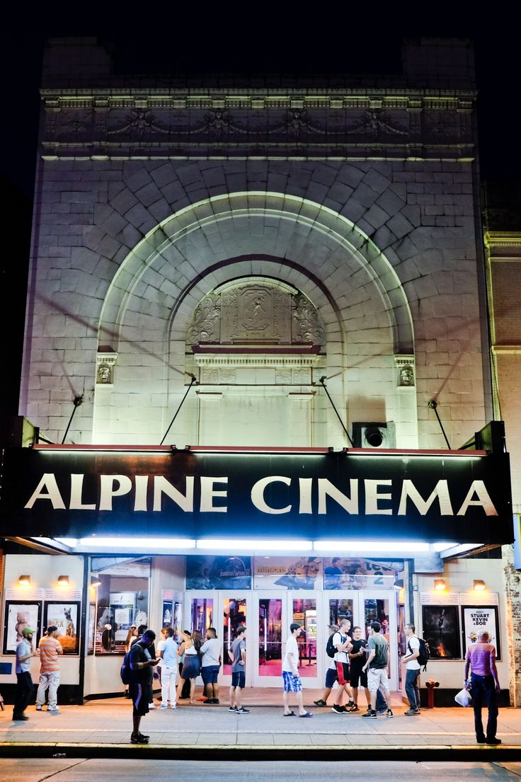 Alpine Cinema in Bay Ridge, Brooklyn is possibly the cheapest movie ticket in New York, at least on Wednesday nights, when every seat is $6 — even first-run 3D blockbusters. (Photo: Christian Hansen for The New York Times)